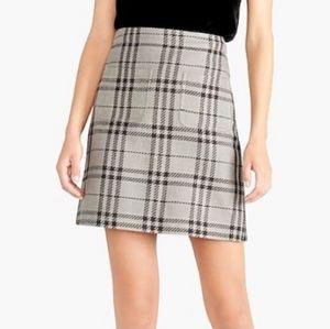 J.CREW - NWT Plaid Mini Skirt